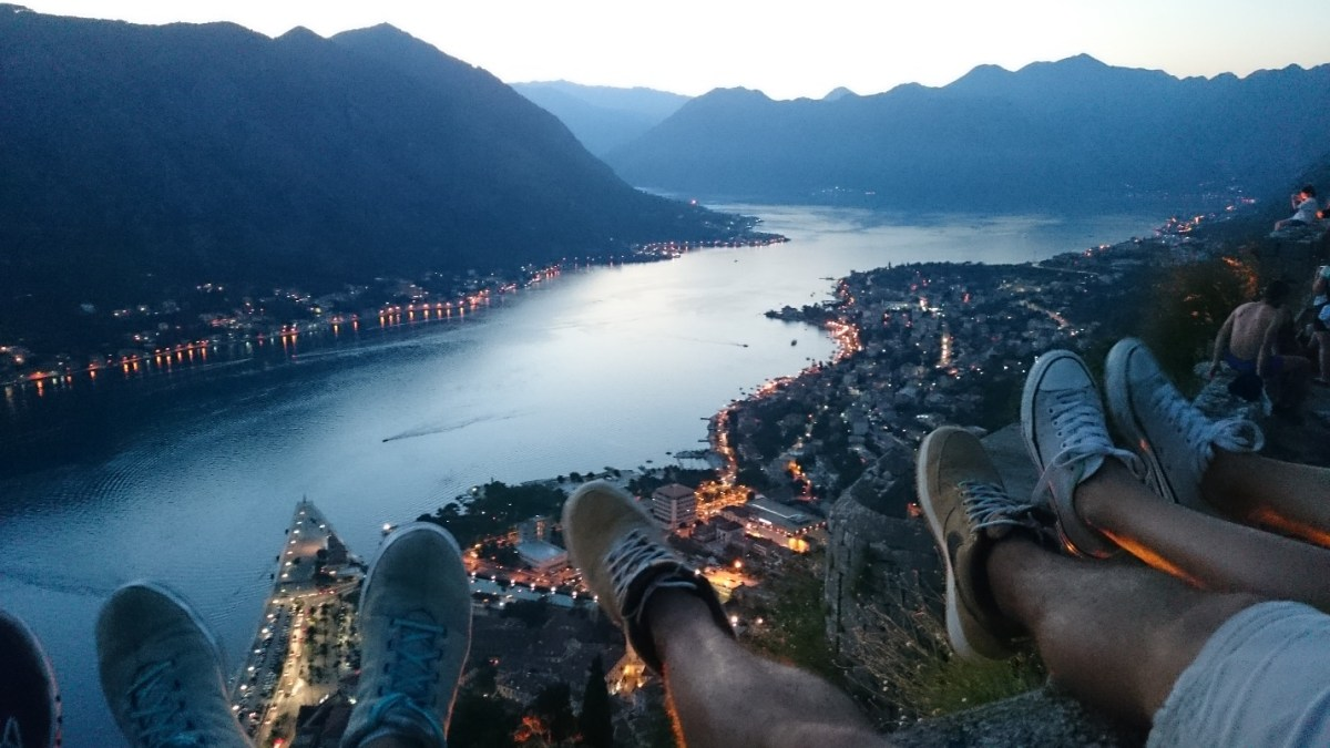 Kotor, Montenegro - View from the Castle. PIC: JS