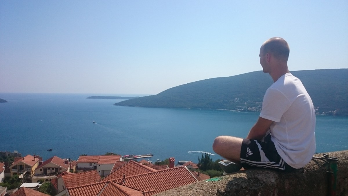 Herceg Novi, Montenegro - View from the Castle in Herceg Novi. PIC: JS