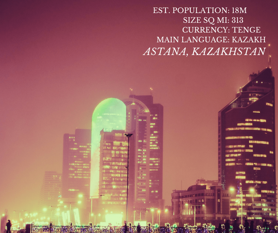 Astana, Kazakhstan: A New Capital