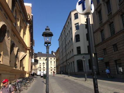 Arsenalgatan, a street in one of those areas with that pan-European feel