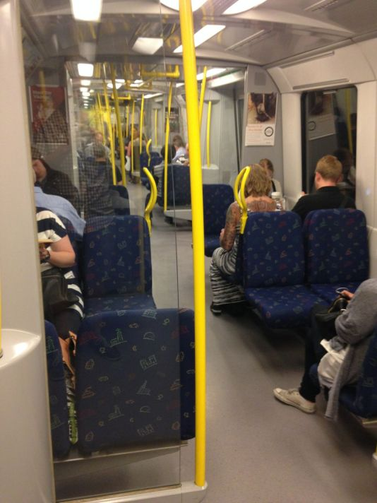 Clean & comfortable, Stockholm's metro mirrors the city it serves