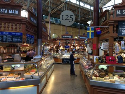 Ostermalms Saluhall - I arrived just when it opened to try to scrounge up some jet-lagged breakfast