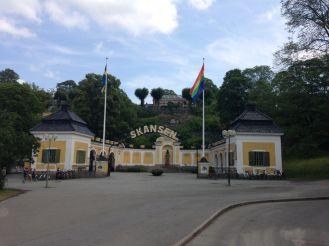 It was Pride week, and celebratory flags were everywhere