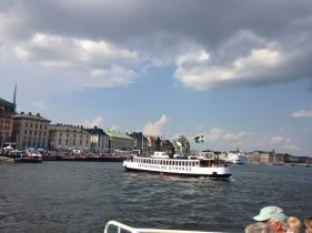 Stockholm's Metro is great, but the vast system of ferries is definitely a more scenic way to get around