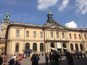 The Nobel Museum, dedicated to Nobel Prize history (5 of 6 Nobel Prizes are awarded in Stockholm)