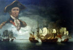 John Paul Jones at Battle of Flameborough Head