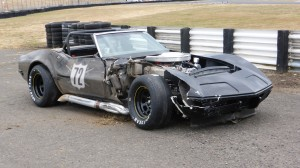 Beater's evil car wrecked
