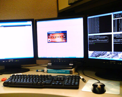Triple Monitors