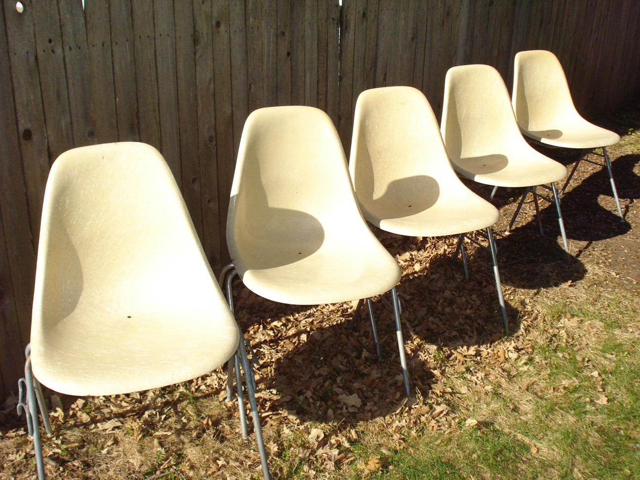 potato chip chair eames rosewood chairs danish  erik g warner