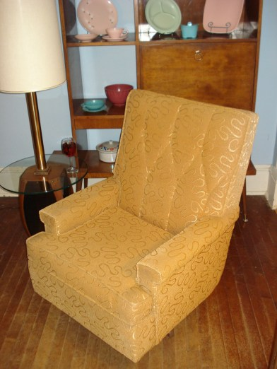 Mill City Mid-Century Lounge Chair