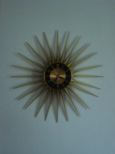 Elgin Starburst Wall Clock