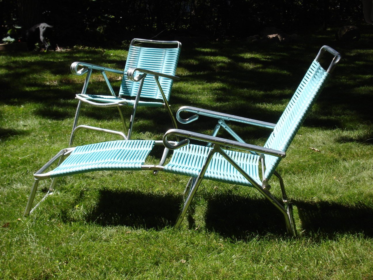 Lawn Chair Lounger Retro Lawn Chair And Lounge Erik G Warner