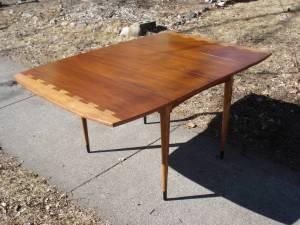Lane Acclaim Dining Table - Restored by Erik G. Warner