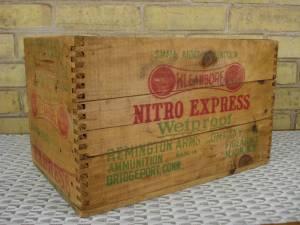 Remington ammo box