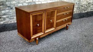 Unmarked Mid Century Dresser - Refinished by Erik G. Warner