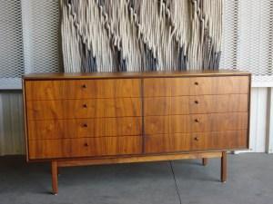 Unmarked Mid Century Dresser -Restored by Erik G. Warner