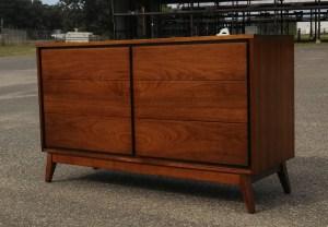 Unmarked Mid Century Dresser- Refinished by Erik G. Warner