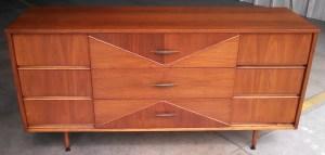 Hooker 9-drawer Dresser - Restored by Erik G. Warner