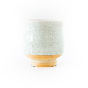 Erik Haugsby Celadon Yunomi Tea Cup Teetasse