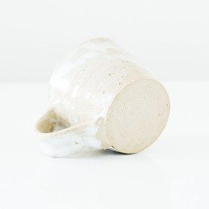 Erik Haugsby Mug White Nuka Handmade Pottery Ceramics