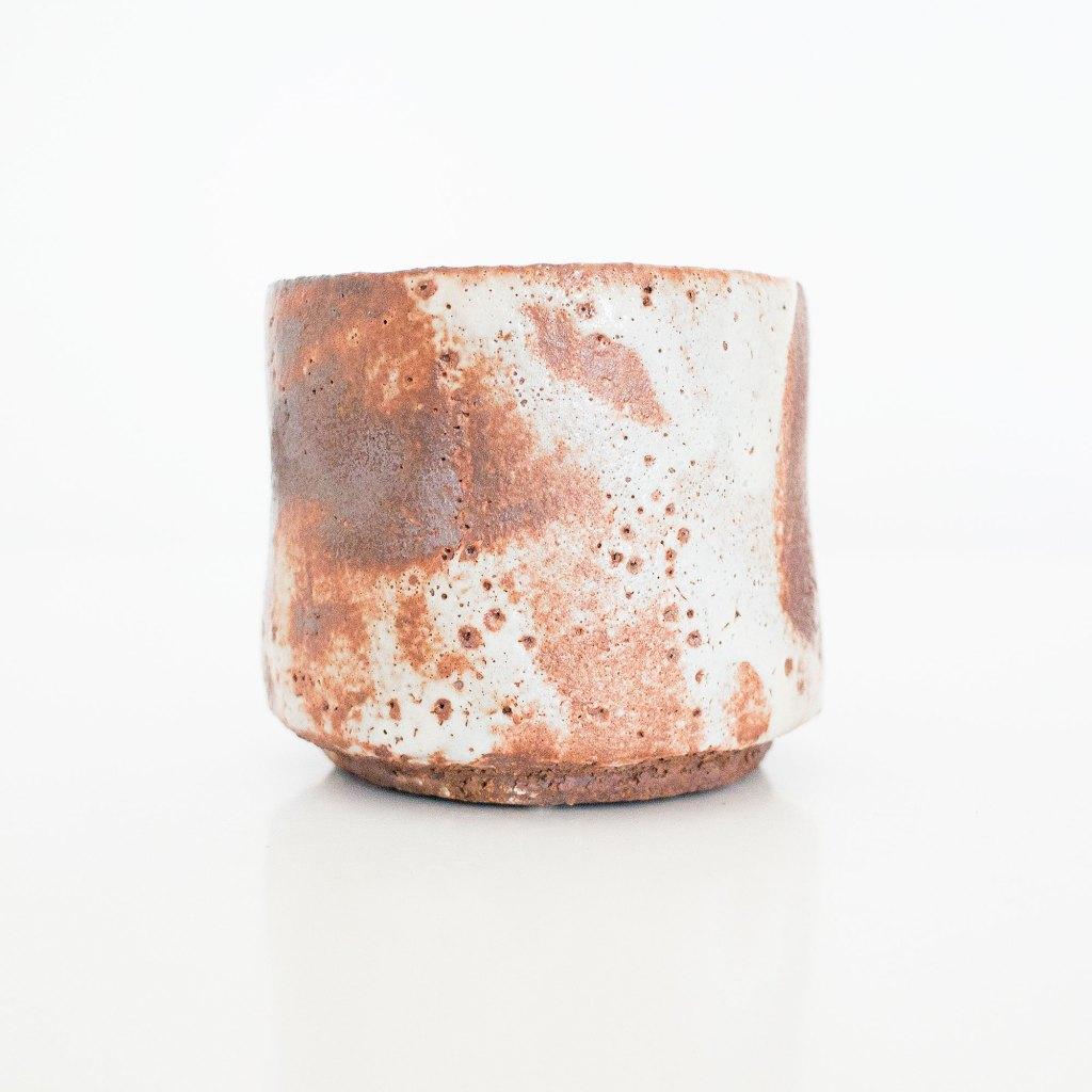 Erik Haugsby Shino Matcha Chawan Tea Bowl Handmade Ceramic Pottery for the Tea Ceremony
