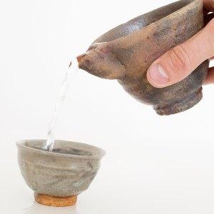 Erik Haugsby Handmade Pottery Ewer Sake Pourer