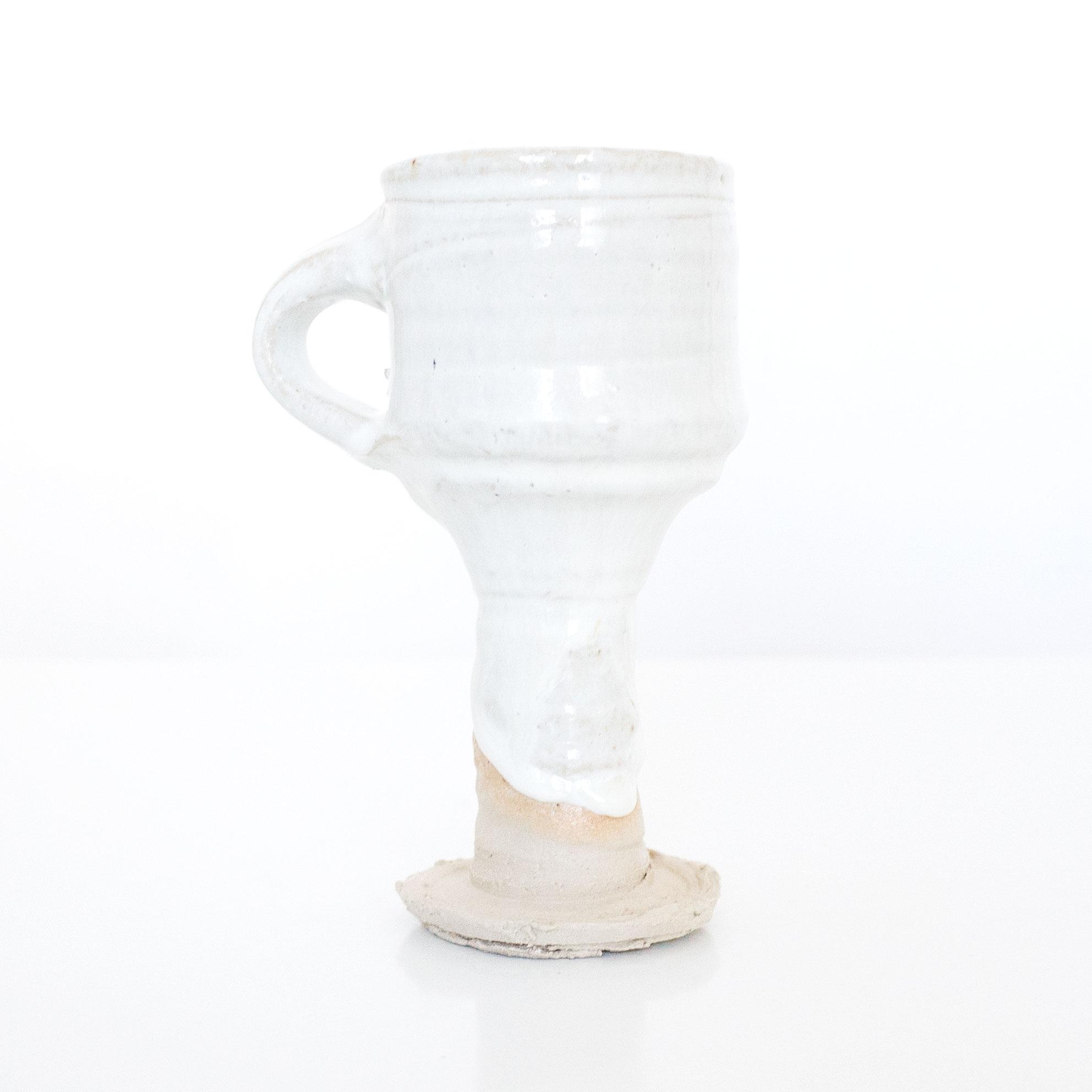 Erik Haugsby Pottery handmade ceramic chalice gobleat
