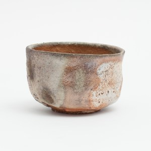 Erik Haugsby handmade matcha Chawan shino tea bowl woodfired