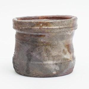 Erik Haugsby woodfired shino Mizusashi water jar