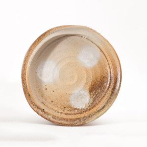 Erik Haugsby handmade pottery woodfired plate