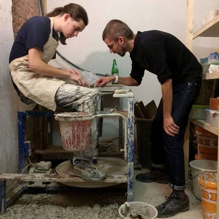 Courses and workshops with Erik Haugsby Pottery.