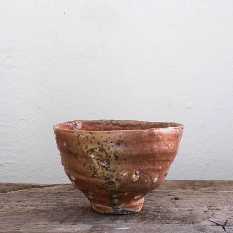 Erik Haugsby Pottery woodfired Ido chawan