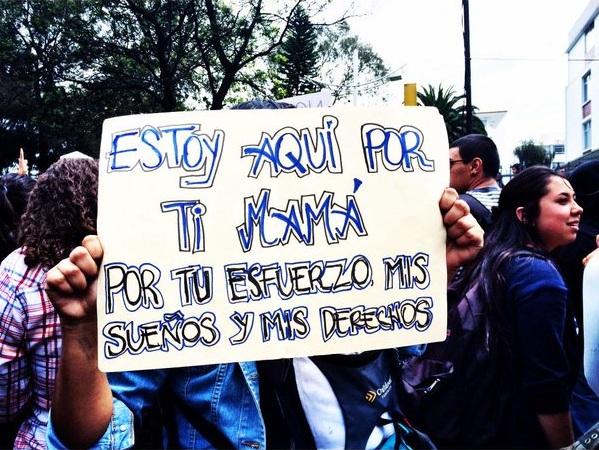 No fueron solo aranceles - Federación Nacional de Estudiantes Universitarios Particulares del Ecuador – FEUPE – (3/6)