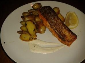 Salmon potatoe xmas