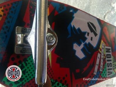 Independent truck Co. Mark Gonzales Vision Skateboards