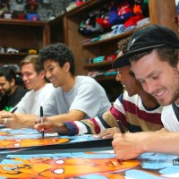 Warning Skate Shop - Primitive Team Signing & Exclusive Board Release
