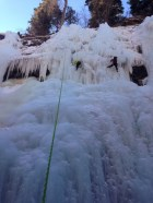 Funky ice in Ouray