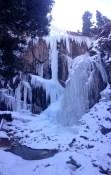 La Ventana in the Ouray Ice Park.
