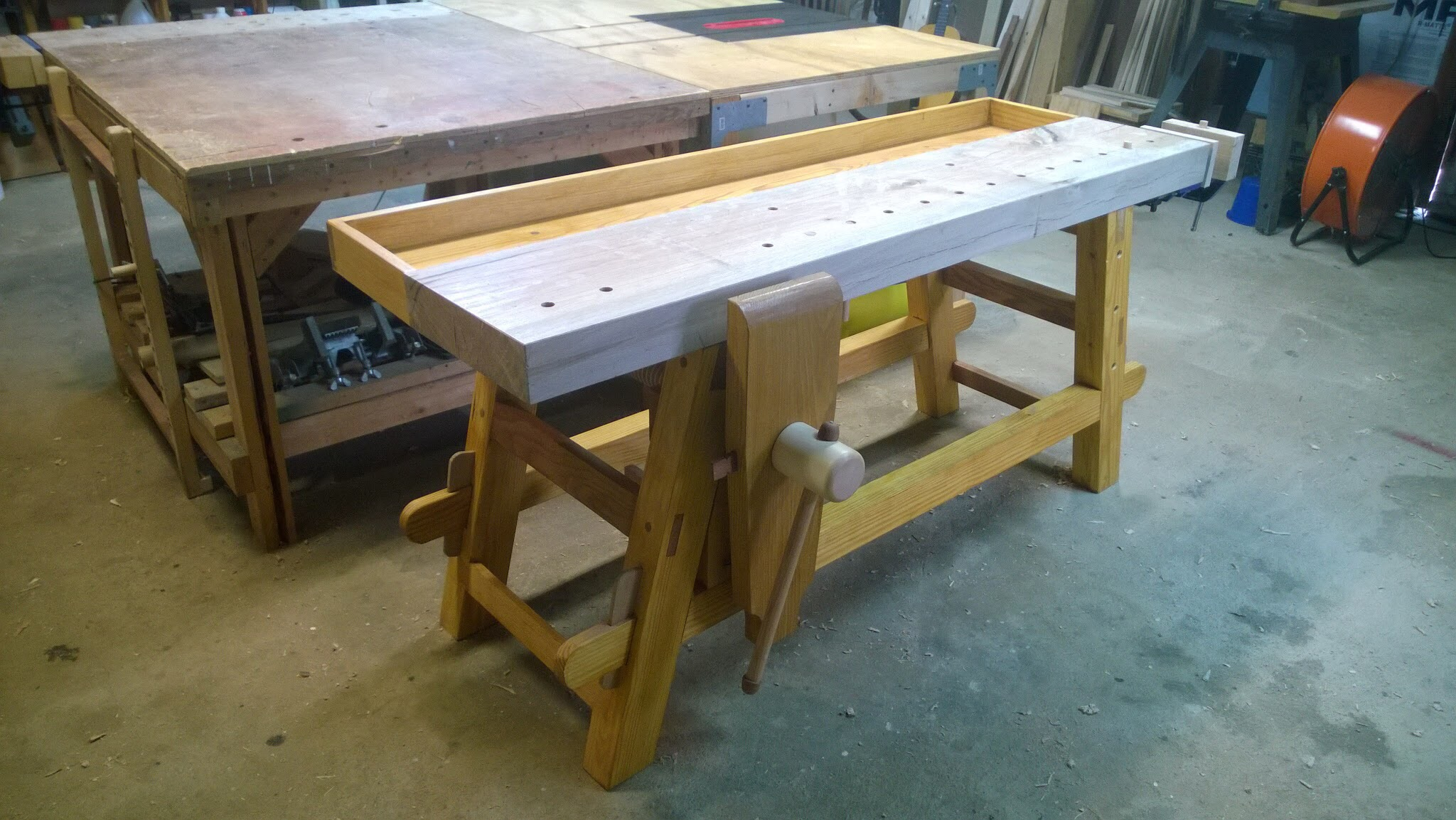 Moravian Workbench