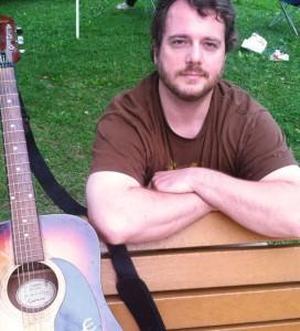 Erik with guitar