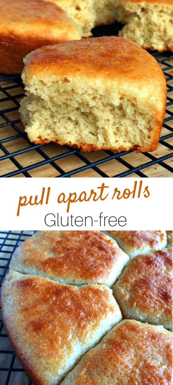 Gluten-Free Pull Dinner Rolls