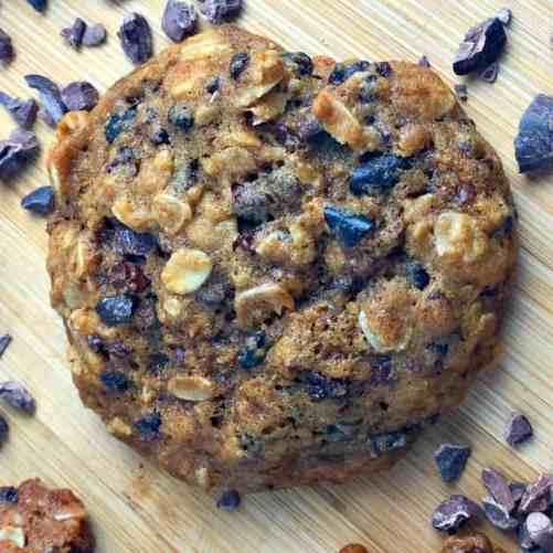 Oatmeal Cacao Nib Cookies