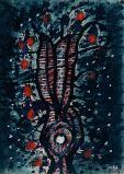 Yayoi-Kusama-Tree-1952.-Tate-Modern-Retrospective
