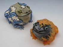 """Blaze Toad"" and ""Tempestuous Toad"" 2012"