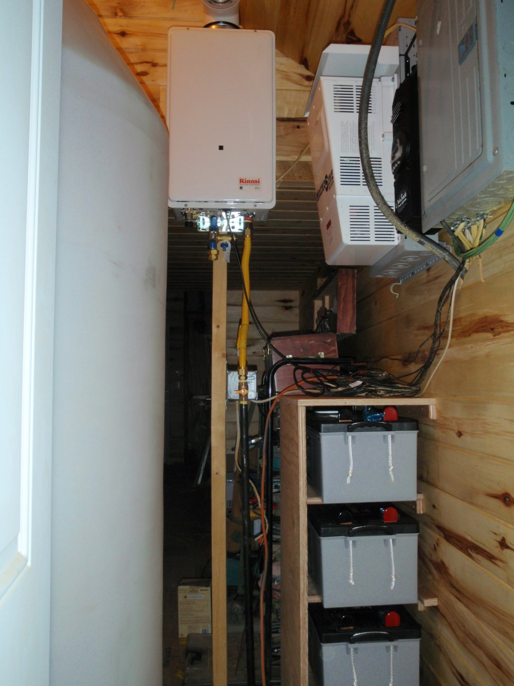 medium resolution of batteries water tank solar inverter hot water heater and the other workings of an off grid home