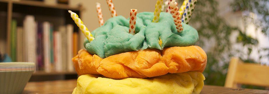 playdough birthday cake SS