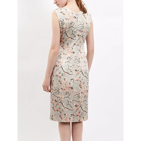 Sakura time!: Cherry blossom print silk dress by Jaeger