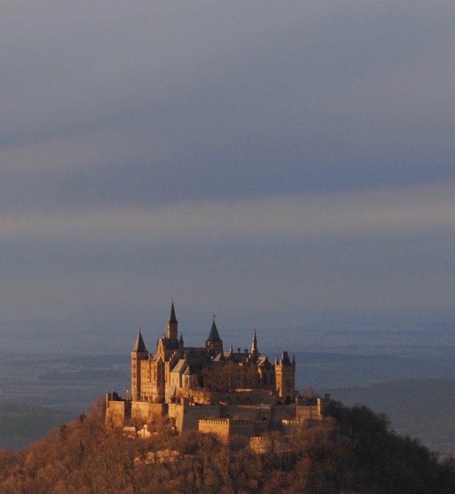 The gorgeous Burg Hohenzollern