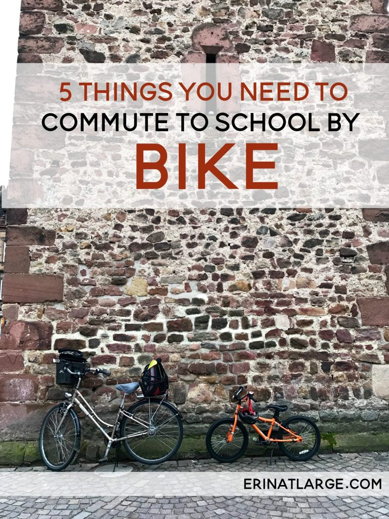 5 things you need to commute to school by bike