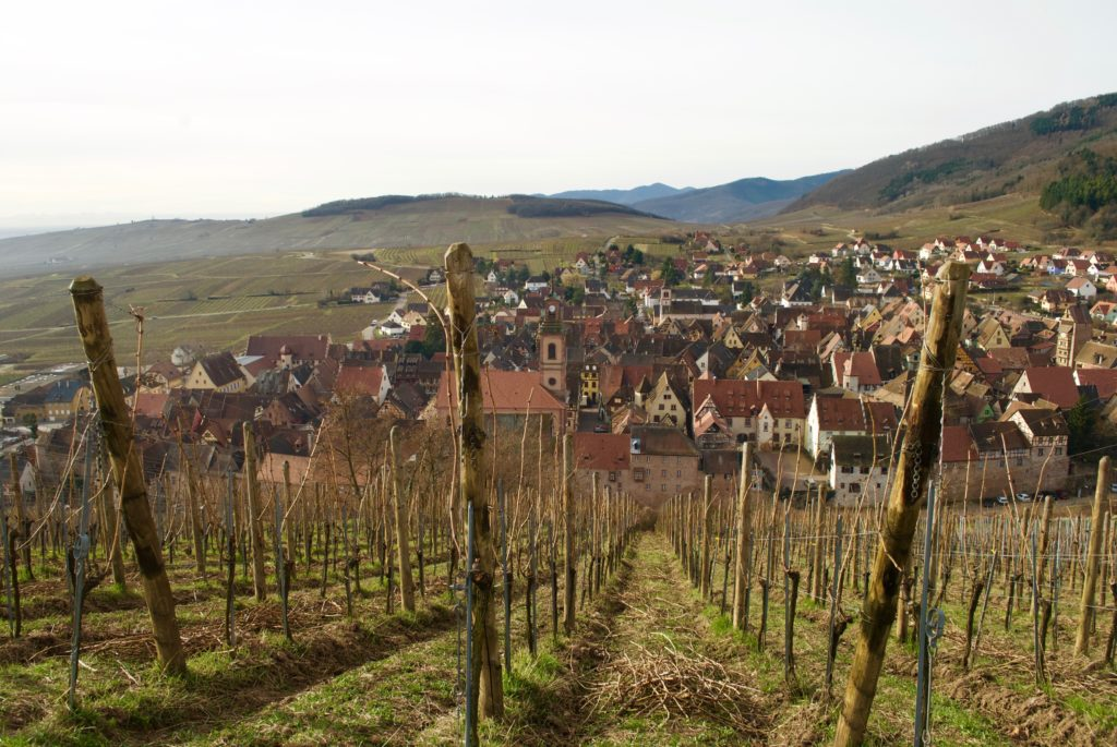 Riquewihr in late winter